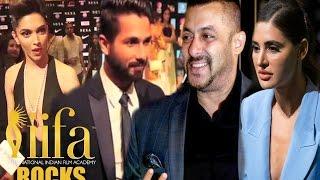 IIFA Awards 2016 (IIFA Rocks) Green Carpet - Deepika, Salman Khan, Shahid, Nargis, Sonakshi SInha
