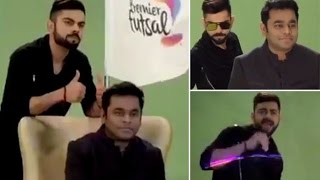 VIRAT KOHLI DANCES in Premier Futsal Anthem sneak peek | Premier Futsal League 2016 anthem
