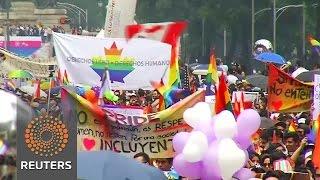 Mexico City's Pride presses on despite Orlando
