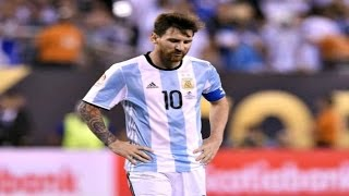 Messi quits international football after penalty miss
