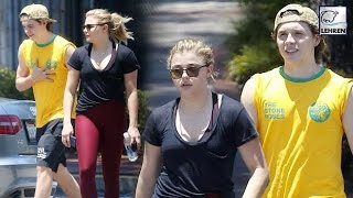 Brooklyn Beckham & Chloe Moretz Workout Together