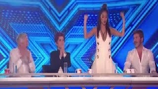 Nicole Scherzinger shocking moment performs a racy dance on The X Factor judges' table