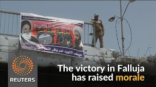 Iraqi troops take back Falluja from Islamic State