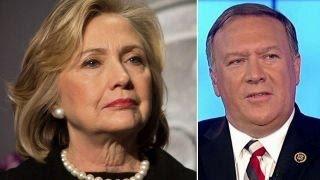 Pompeo: Clinton put politics ahead of people on the ground
