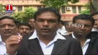 Telangana Lawyers Protest Against Telangana Judges Suspension | High Court Bifurcation