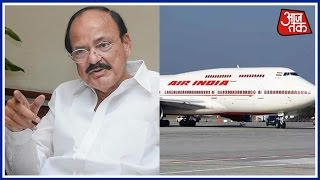 Venkaiah Naidu Lashes Out At Air India