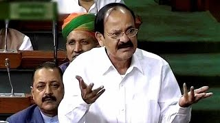 Venkaiah Naidu criticizes Air India , misses flight