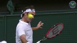 2016, Day 1 , Roger Federer vs Guido Pella