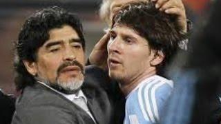 Diego Maradona Urges Lionel MessiNot To Quit Argentina