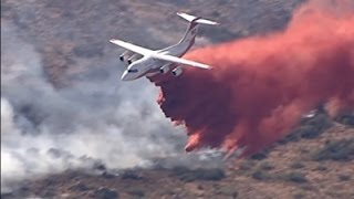 Raw: Central Arizona Fire Forces Evacuations