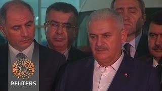 IS behind airport blast: Turkey PM