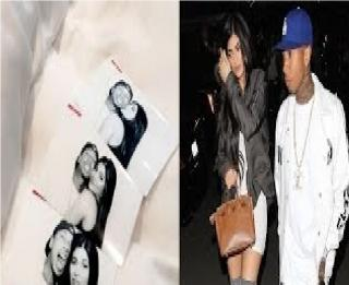 Kylie Jenner and Tyga Sneak a Kiss During Khloe Kardashian's Birthday Bash
