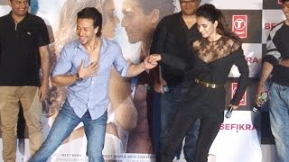 Befikra SONG LAUNCH ft Tiger Shroff & Disha Patani