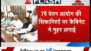 7th Pay Commission: Cabinet approves pay hike for govt employees