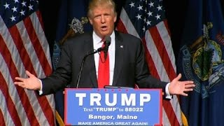Trump Promises to Conquer Trade Deficit, ISIS