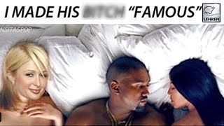 Paris Hilton SLAMS Kim Kardashian   SPOOFS 'Famous' Music Video