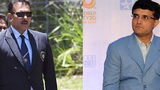 Ravi Shastri Living in a FOOL'S WORLD Accuses Sourav Ganguly