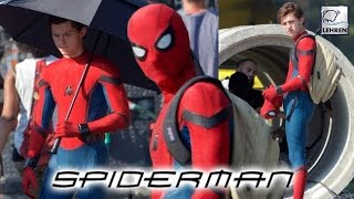'Spider Man: Homecoming' On Set PICTURES LEAKED!! | Tom Holland