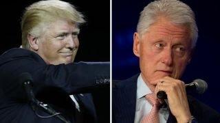 Trump implies Bill was lobbying for leniency in wife's probe