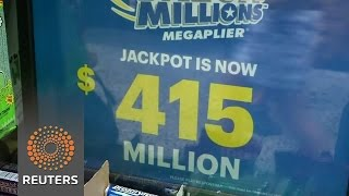 New Yorkers get in on the Mega Millions jackpot as it grows to $415 million