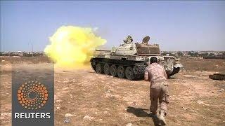 Libyan forces battle Islamic State in Sirte