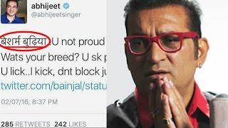OMG! Singer Abhijeet $EXUALLY ASSAULTS Female Journalist, Calls Her Pakistani