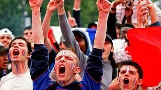 Euro 2016: France fans celebrate semi-final place