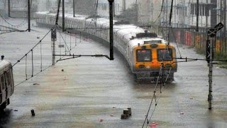 Mumbai comes to halt after heavy rains hit local train service, traffic