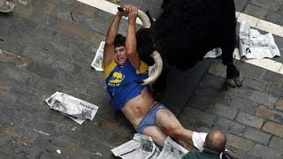 Crazy people Funny Fails Bull attack funny compilation Bull fight accident
