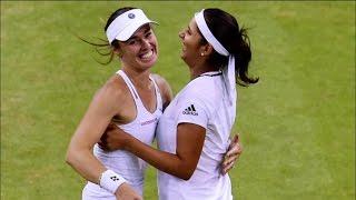 Wimbledon2016 - Sania Mirza-Martina Hingis Ease Into Third Round