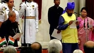 Athawale forgets his name during oath-taking ceremony