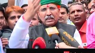 Modi Cabinet reshuffle - New Minister Arjun Meghwal cycles to Rashtrapati Bhavan for oath taking