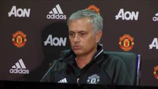 Jose Mourinho Fires Shots at Arsene Wenger in First Manchester United Press Conference