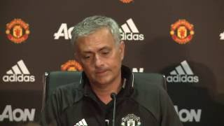 JOSE MOURINHO: MANCHESTER UNITED IS THE JOB EVERYONE WANTS - Press Conference clip 1 of 5