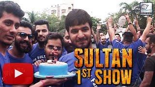 SULTAN: Salman Khan's CRAZY Fans Celebrate FIRST SHOW