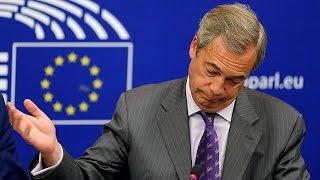 'I'll miss drama of European Parliament', says UKIP's Farage