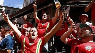 Wales fans pour into Lyon for Euro 2016 semi-final with Portugal