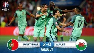 Portugal vs Wales 2-0 - All Goals & Highlights | UEFA EURO FRANCE 2016