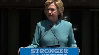 Clinton: Bankruptcy Good For Trump, Not the US