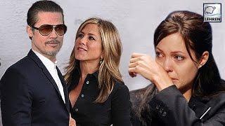 Is Brad Pitt CHEATING Angelina With Jennifer Aniston????