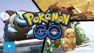 I'M A POKEMON TRAINER NOW!  POKEMON GO GAMEPLAY [POKEMON GO PARODY]