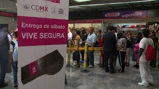 Mexico City aims to prevent $exual assault with free whistles