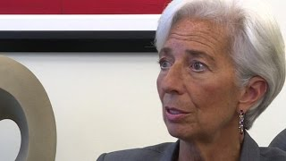IMF's Lagarde talks about post-Brexit uncertainty
