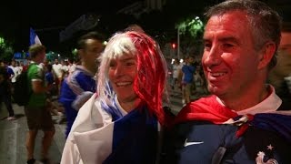 Euro 2016: Fans hail Les Bleus all the way to the final