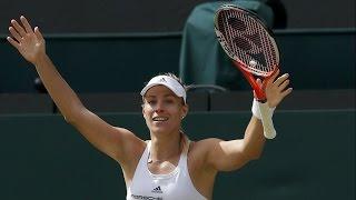 Wimbledon 2016 - Semi-Final - Angelique KerberBeats Venus Williams