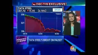 Tata Steel Mulls Delaying UK Biz Sale