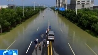 Raw: Flood Waters Recede in Southern China