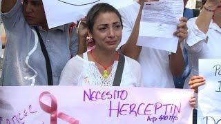 Sick, desperate Venezuelans express frustration at crisis