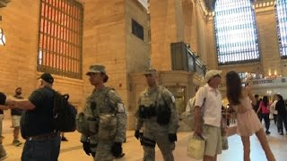 Heightened security in New York after Dallas attack