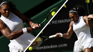 Serena Williams's Nipples Took Over Wimbledon